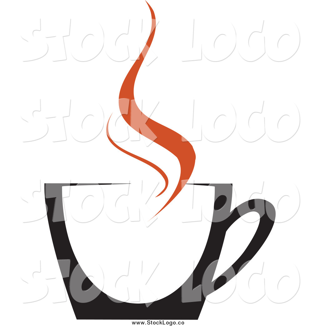 Larger Preview: Vector Clipart of a Black Coffee Cup with ...