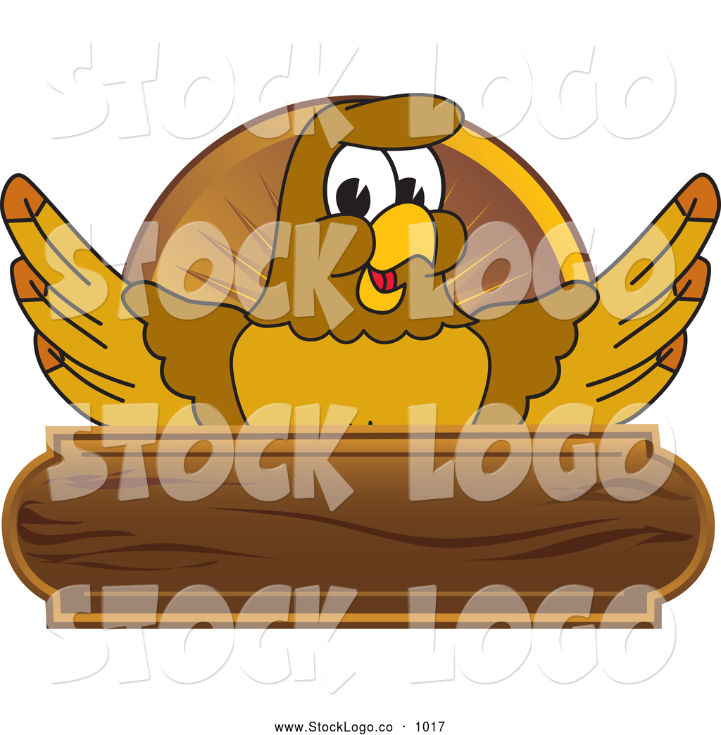 Royalty Free Falcon Cartoon Character Stock Logo Designs