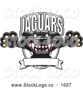 September 25th, 2013: Vector Logo of a Ferocious Black Jaguar Mascot Character Leaping Logo by Toons4Biz