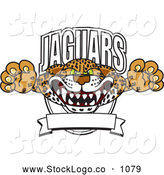 Vector Logo of a Friendly Jaguars Character School Mascot Logo by Toons4Biz