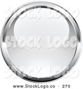 Vector Logo of a Pre-Made Logo of a Shiny Orb Bordered by Silver, over a Space for a Business Name and Company Slogan by Beboy