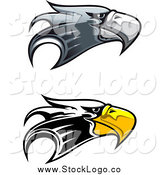 Vector of Eagle Head Logos by Vector Tradition SM