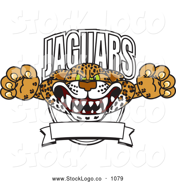 Vector Logo of a Friendly Jaguars Character School Mascot Logo