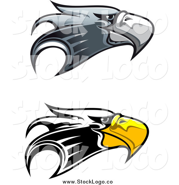 Vector of Eagle Head Logos
